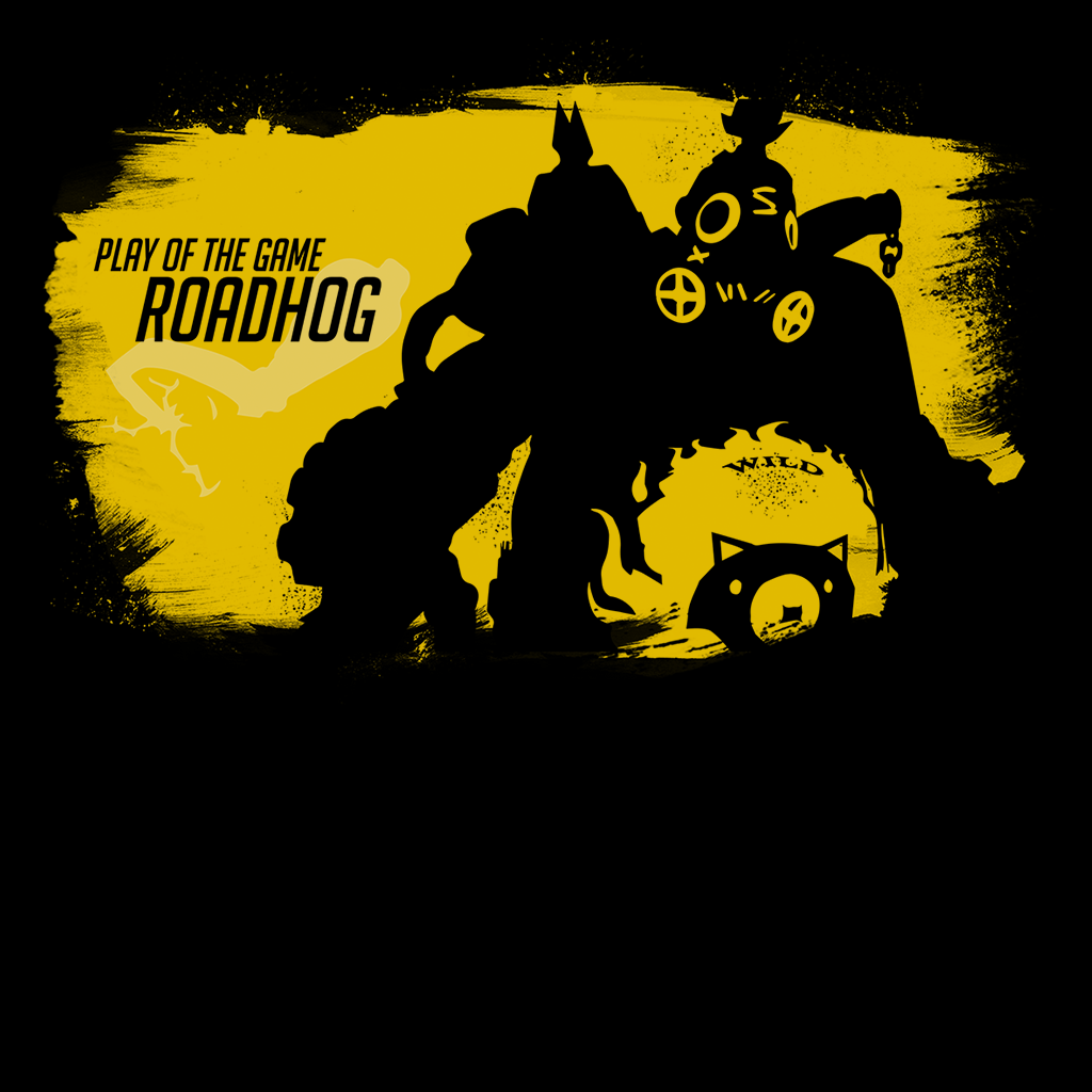 Pop-Up Tee: Roadhog