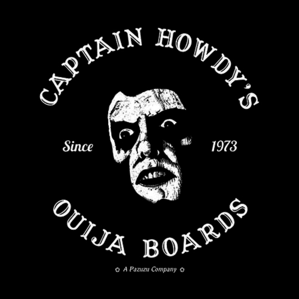 Five Finger Tees: Captain Howdy's Ouija Boards T-Shirt
