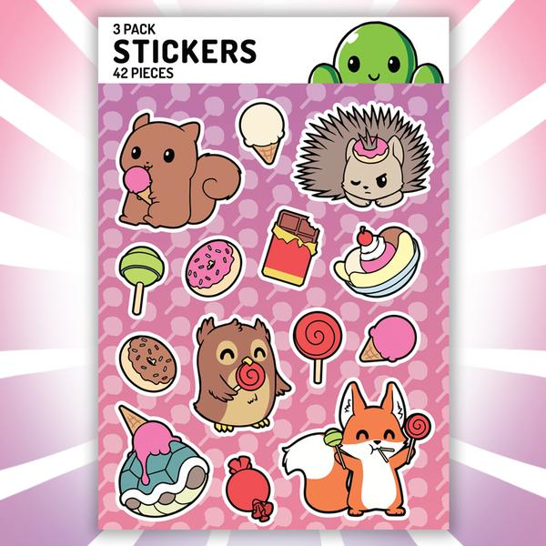 TeeTurtle: Need More Candy Stickers