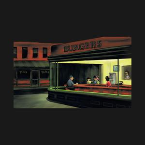 TeePublic: Night Burgers