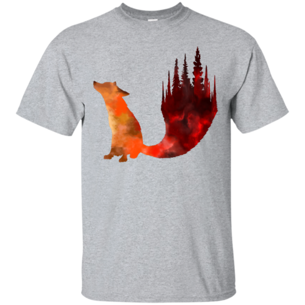 Pop-Up Tee: Fox Tail