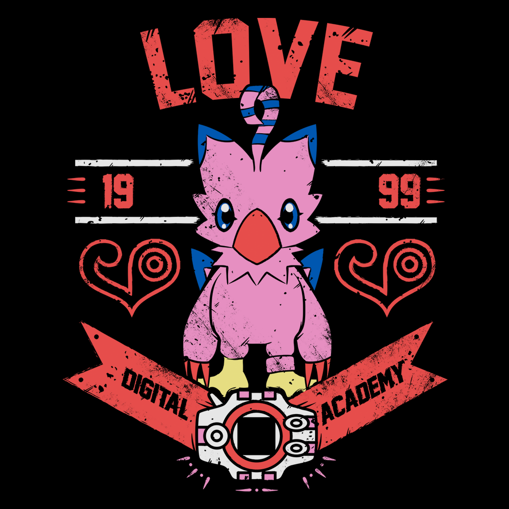 Pop-Up Tee: Love Academy