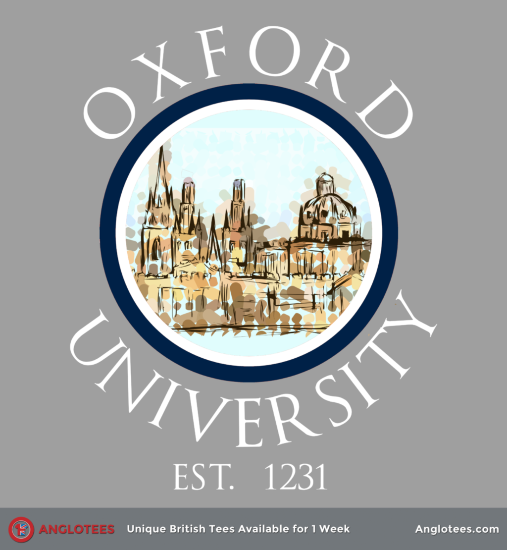 Anglotees: Dreaming Spires Oxford Tribute