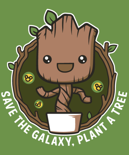 Qwertee: Save The Galaxy