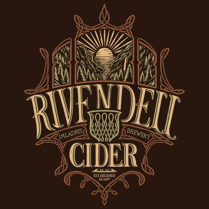 We Heart Geeks: Rivendell Cider - Men's T-Shirt