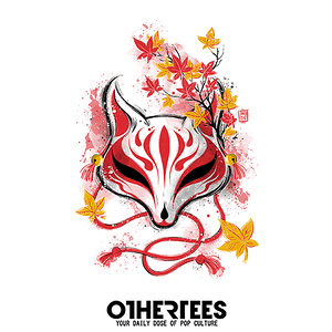 OtherTees: Autumn Kitsune
