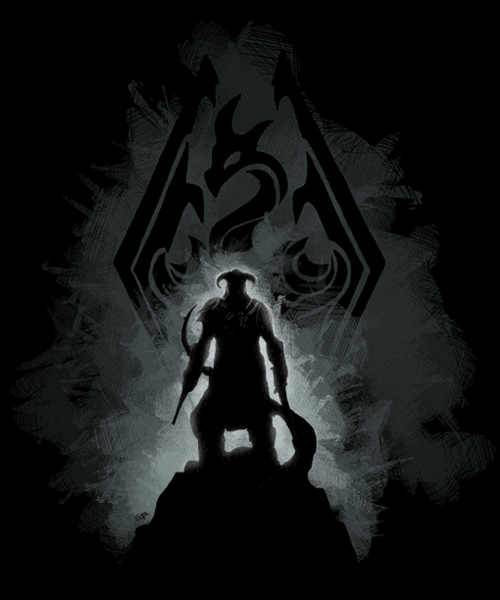 Qwertee: The Dovahkiin
