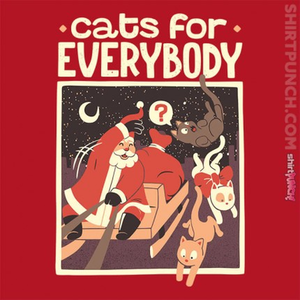 ShirtPunch: Cats for Everybody