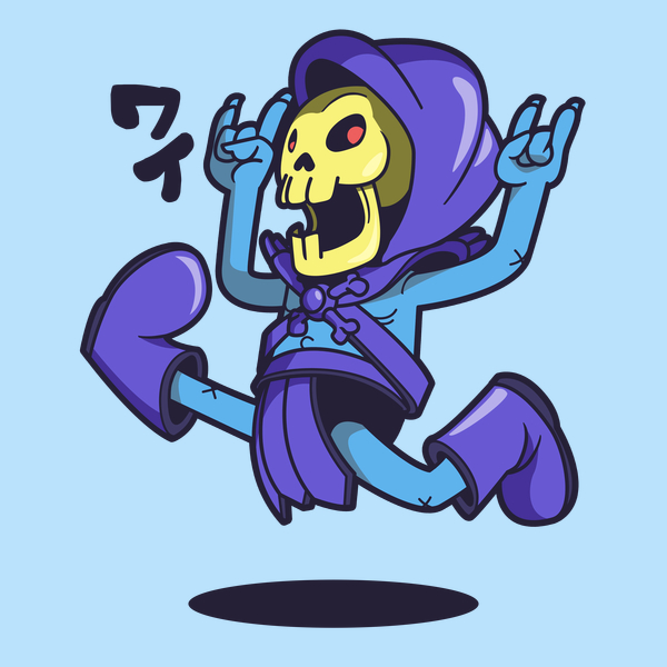 NeatoShop: Skeletor Jump