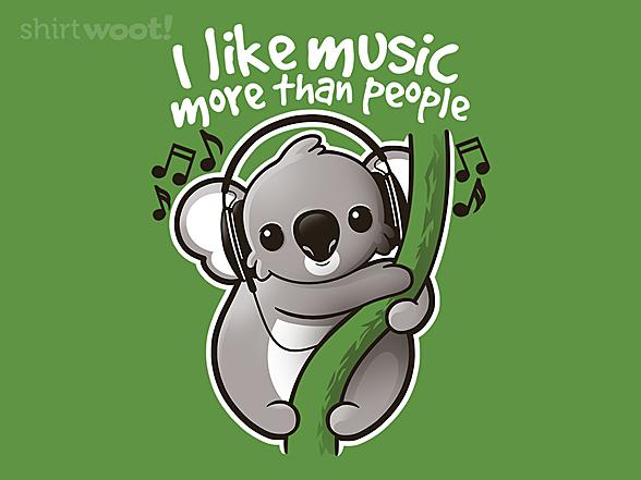 Woot!: Koala Likes Music