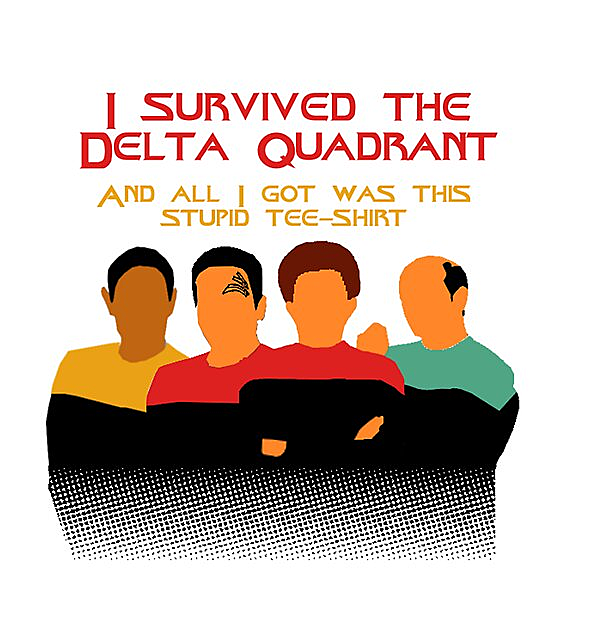 RedBubble: Voyages in the Delta Quadrant
