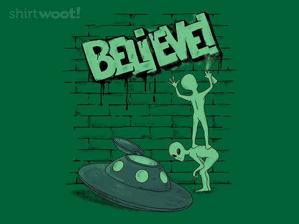 Woot!: Believe Graffiti