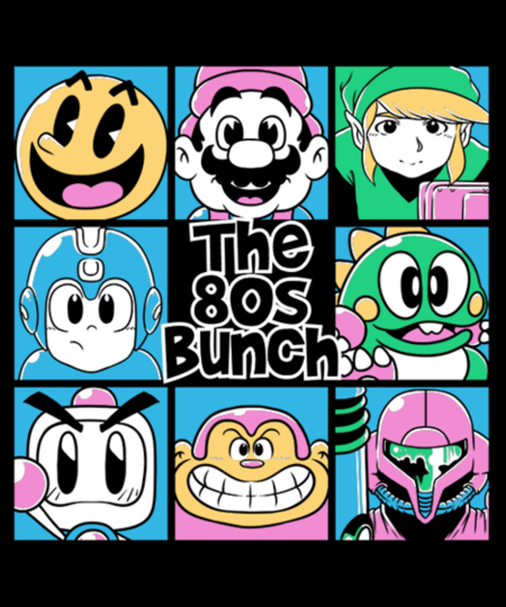 Qwertee: The 80s Bunch