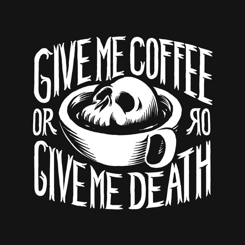 TeeFury: Give Me Coffee