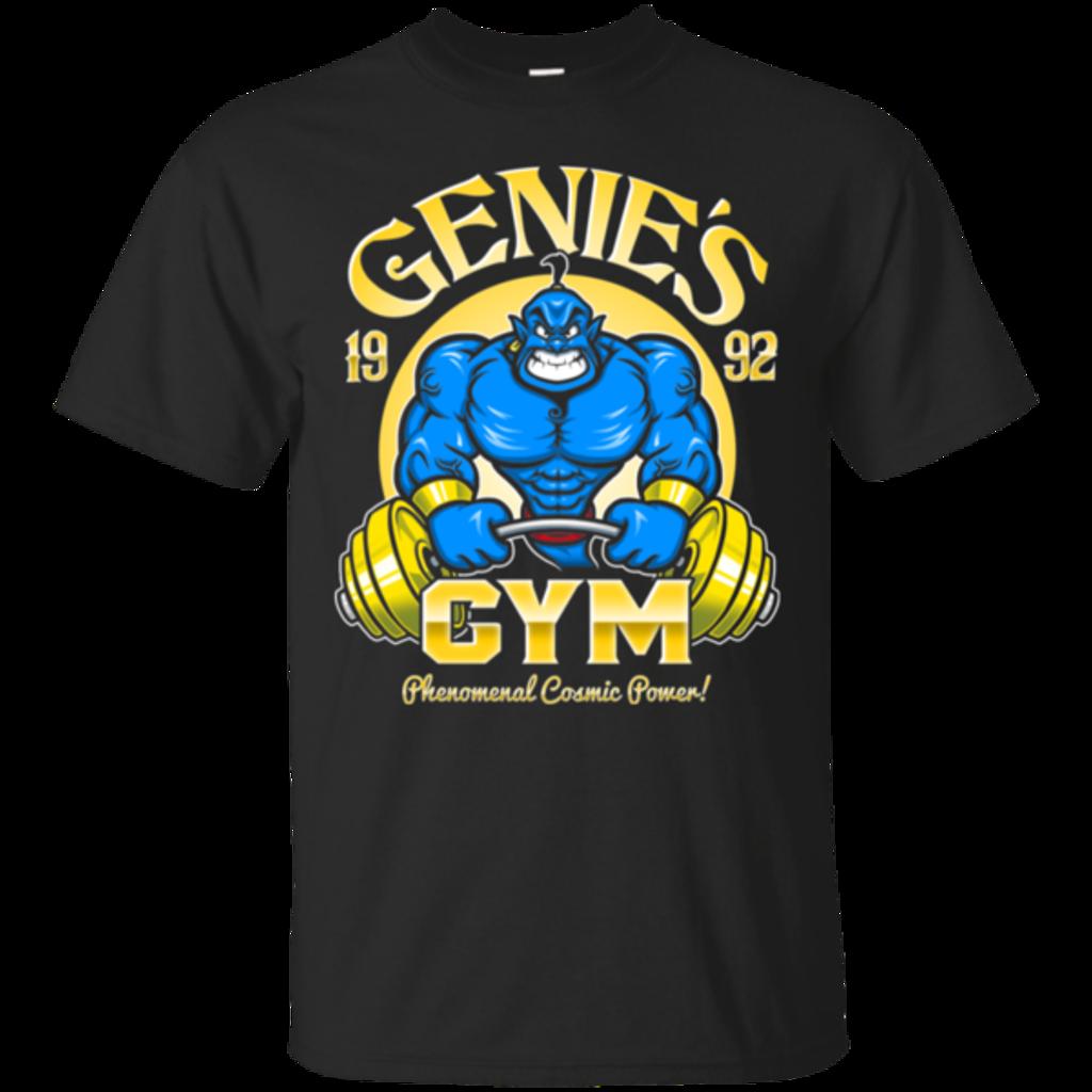 Pop-Up Tee: Genies Gym