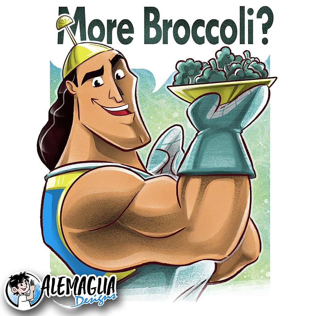 TeeTee: More Broccoli?