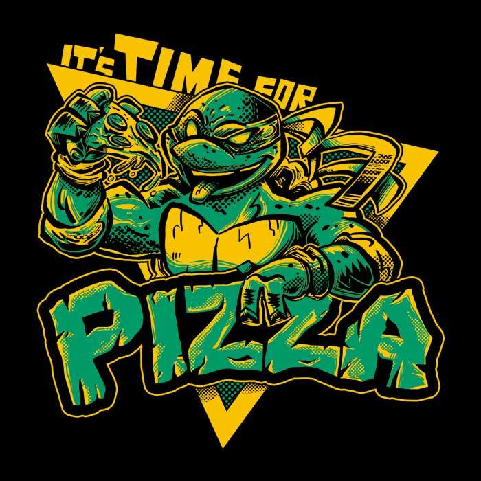 Once Upon a Tee: Pizza Time
