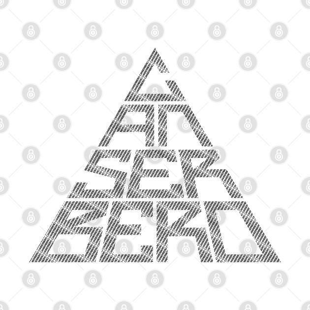 TeePublic: Canserbero Logo Text Black