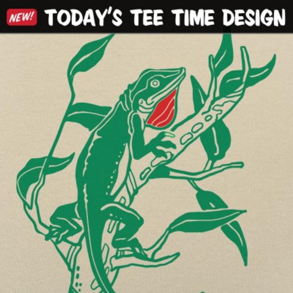 6 Dollar Shirts: Anole Lizard
