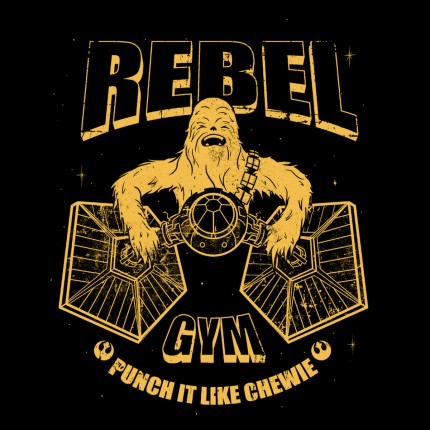 ShirtPunch: Rebel Gym