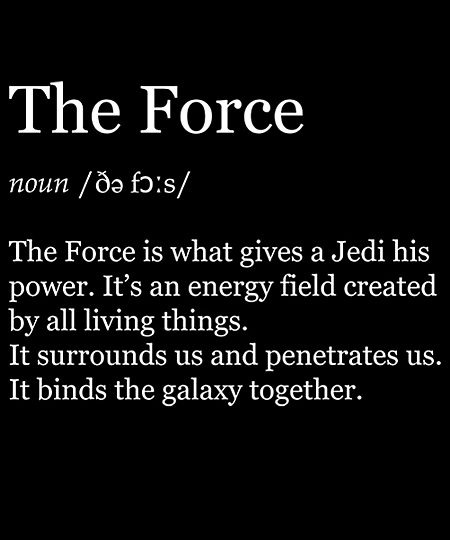 Qwertee: The Force
