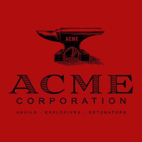 Five Finger Tees: Acme Corporation T-Shirt