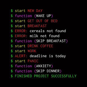 TeeTee: Monday programmer