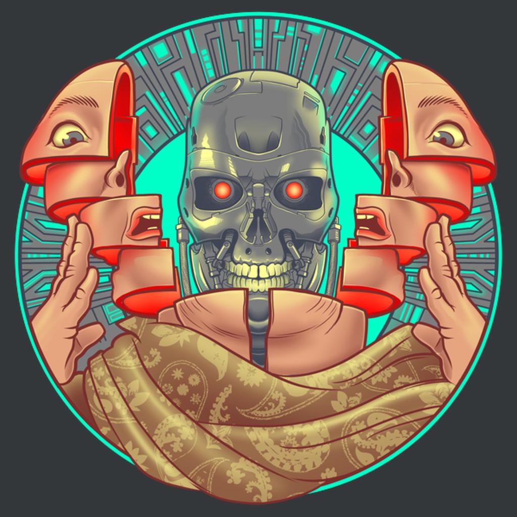 NeatoShop: T2tal Recall - Total Arnie Terminator SciFi Shirt