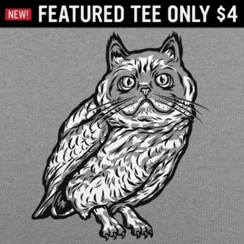 6 Dollar Shirts: Cat Owl
