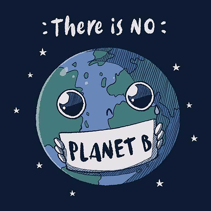 Once Upon a Tee: No Planet B