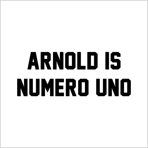 Five Finger Tees: Arnold Is Numero Uno T-Shirt