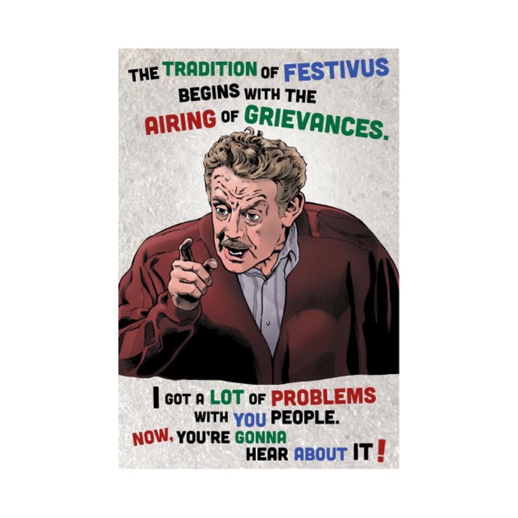 TeePublic: The Tradition of Festivus