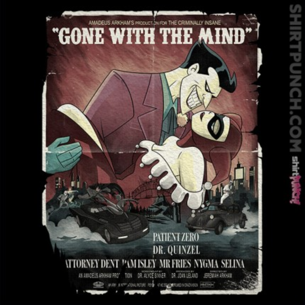 ShirtPunch: Gone With The Mind
