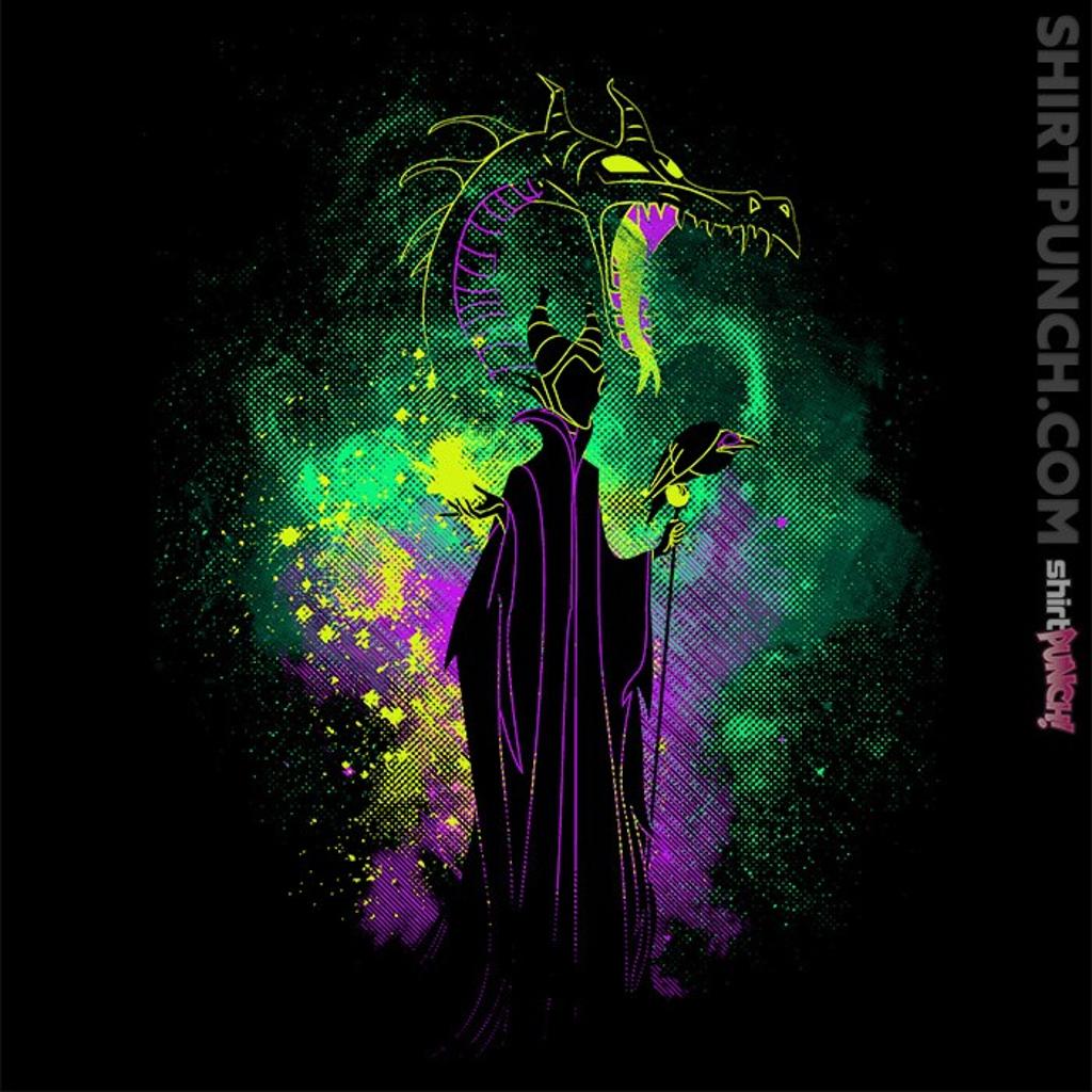 ShirtPunch: Maleficent Art
