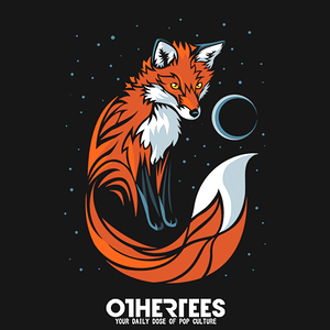 OtherTees: Tribal Fox Long Tail
