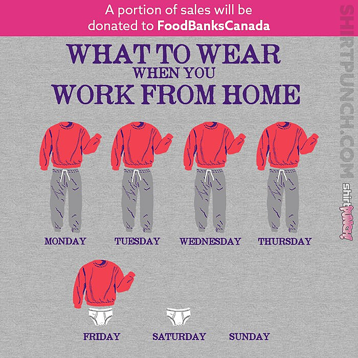 ShirtPunch: Work From Home