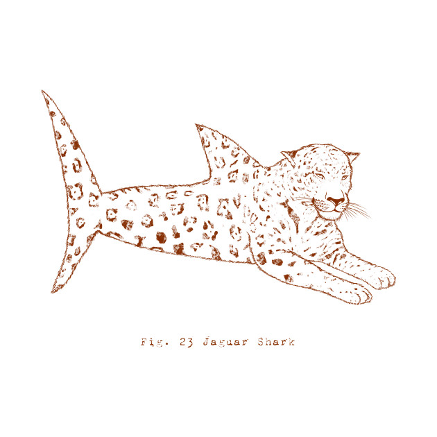 TeePublic: Jaguar Shark