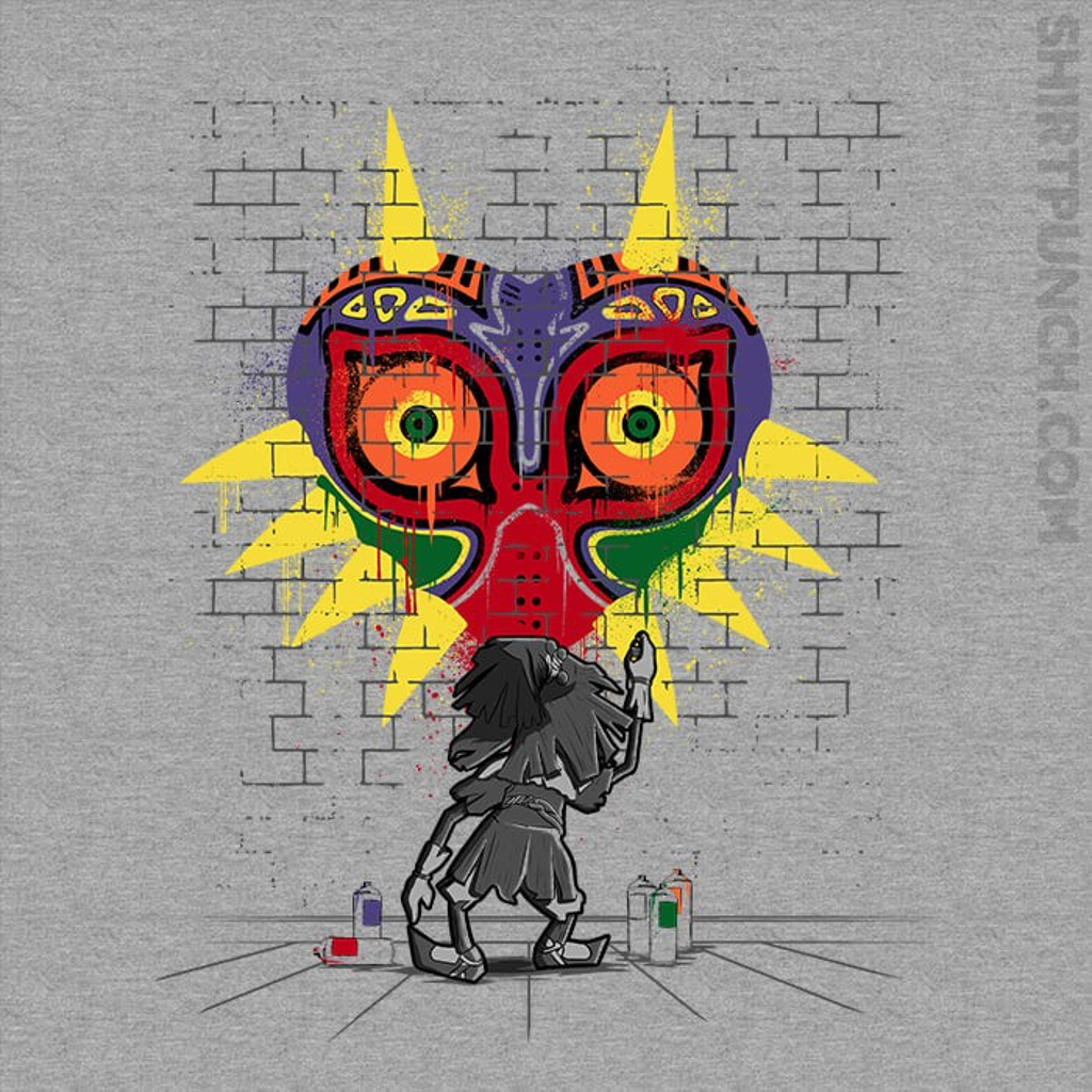 ShirtPunch: Majora's Graffiti