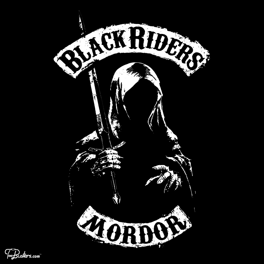 TeeBusters: Black Riders