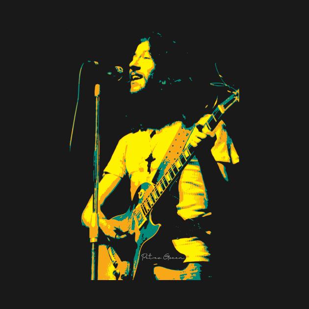TeePublic: Peter Green. Peter Allen Greenbaum. an English blues rock singer-songwriter and guitarist. the founder of Fleetwood Mac.