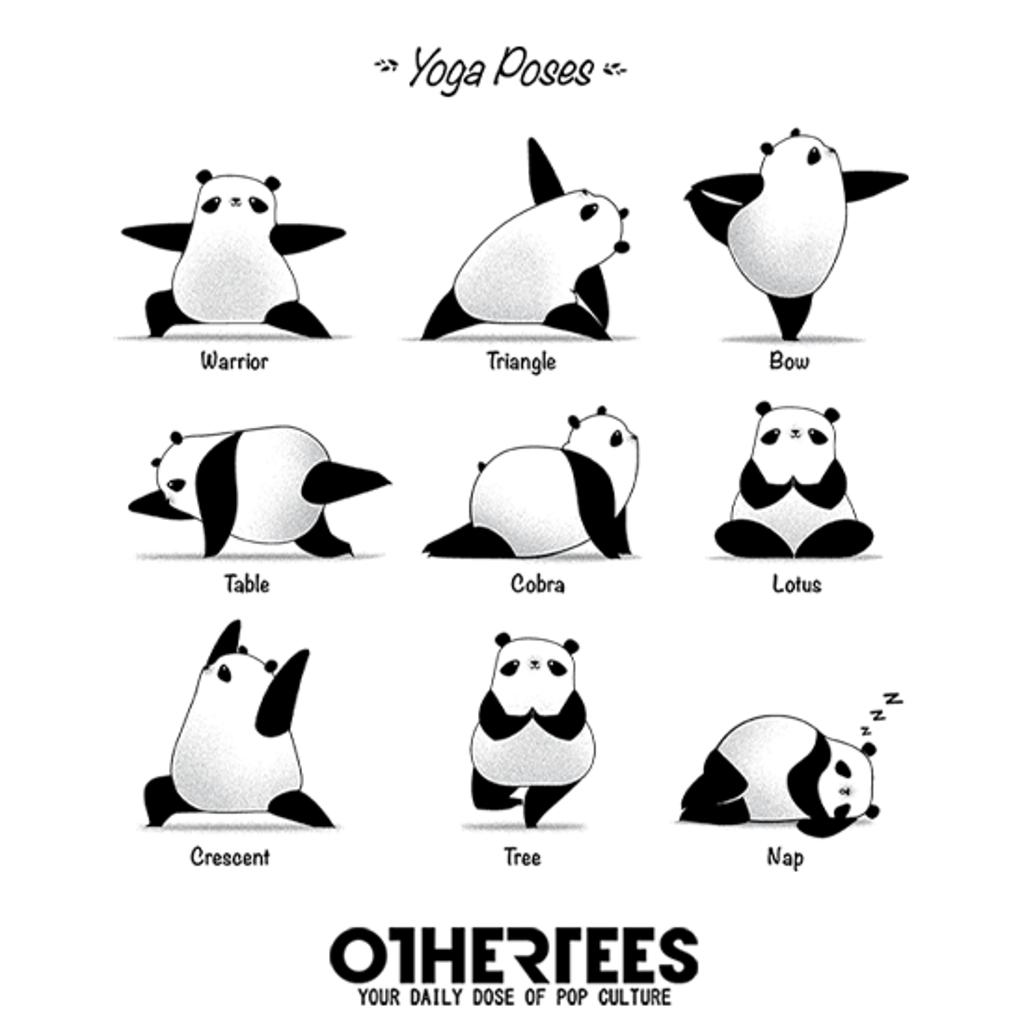 OtherTees: Yoga Panda