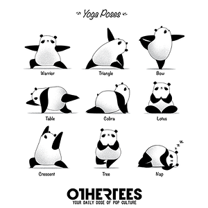OtherTees: Yoga Panda