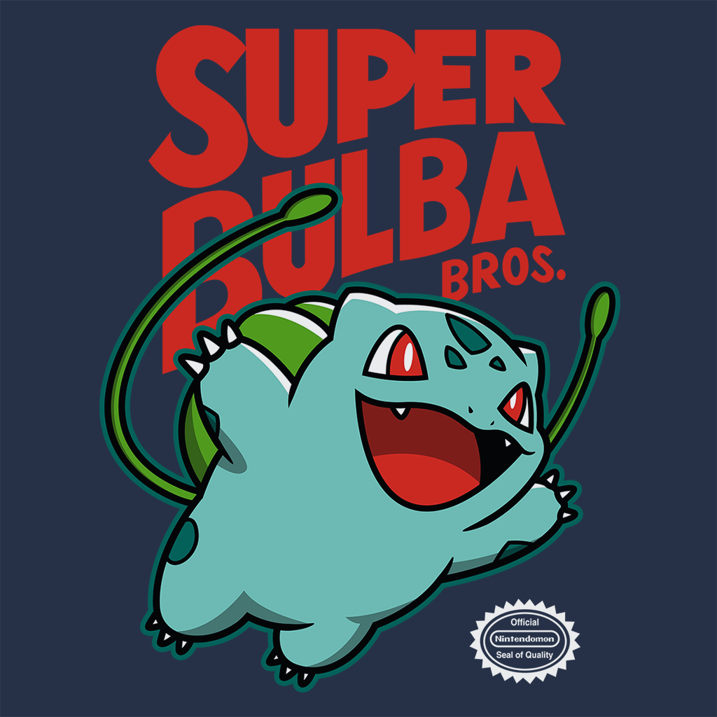 Pop-Up Tee: Super Bulba Bros