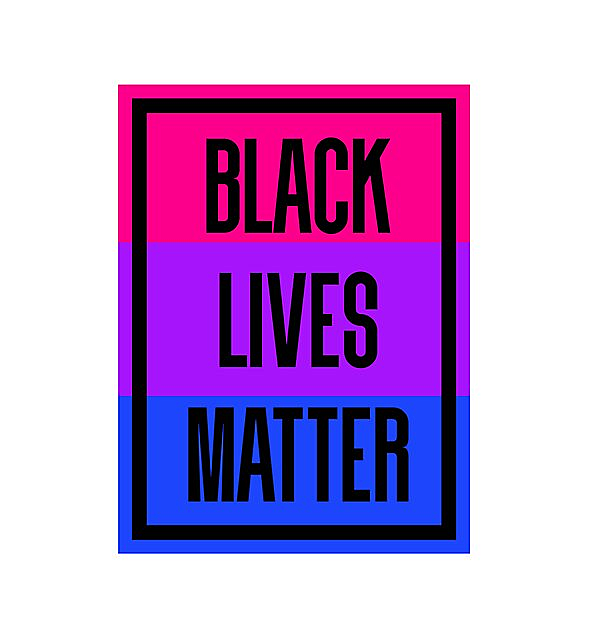 RedBubble: BLM - bisexual
