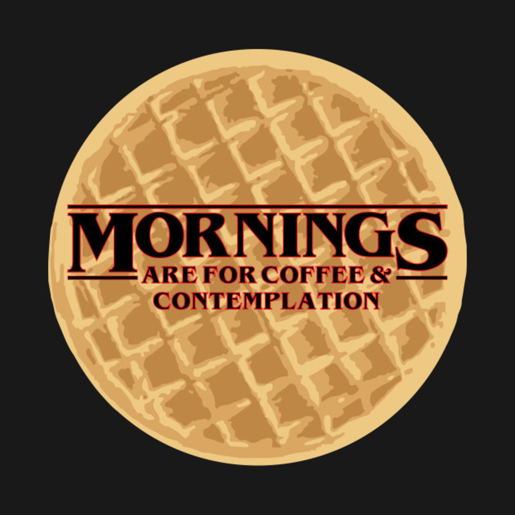 TeePublic: Coffee & Contemplation T-Shirt