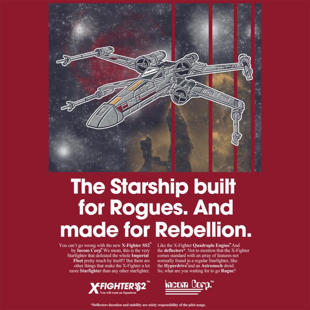 Curious Rebel: Ad Series : X-Wing