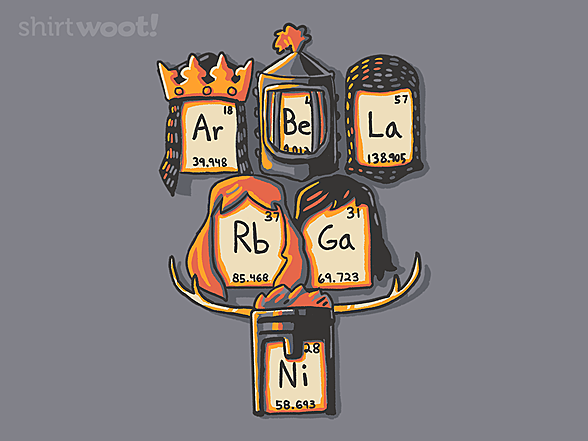 Woot!: Knights of the Periodic Table