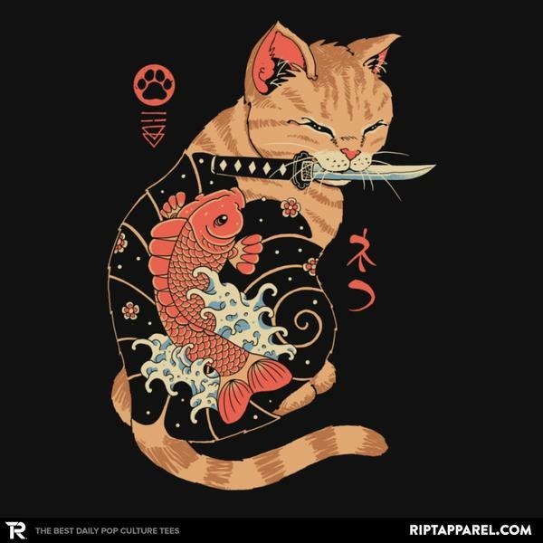 Ript: Carp Tattooed Cat