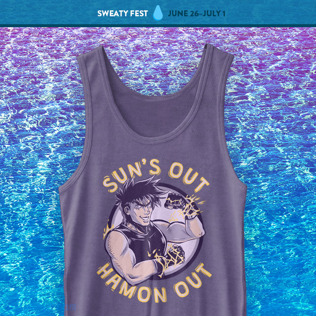 The Yetee: Sun's Out Hamon Out Tank Top