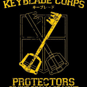 Once Upon a Tee: Keyblade Corps